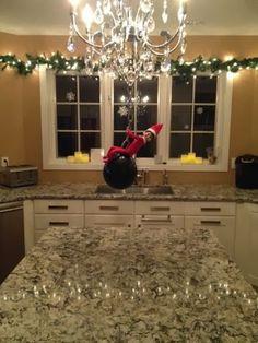 Mamamusing: Elf on a Shelf ~ Day 25