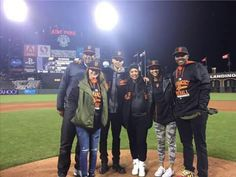 Golden State Warriors Stephen Curry & Family@ AT&T Park. Giants vs Braves. 5-29-15