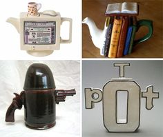 Very different teapots