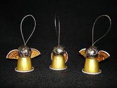 Resultado de imagem para decoração com capsulas nespresso