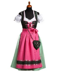 mini dirndl dayana schwarz lachs rose kr ger feelings exclusive dirndl pinterest. Black Bedroom Furniture Sets. Home Design Ideas