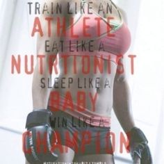 Train like an athlete, because you are.