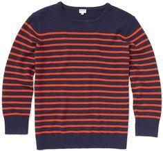 Preston Cashmere Breton Stripe Sweater