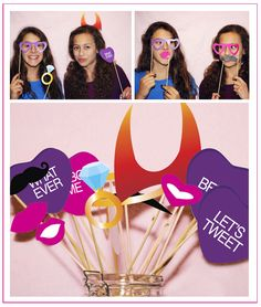 Photo Booth For 18th Birthday - Photo Booth Props