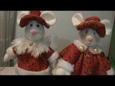 Ratón Navideño En flis..  video tutorial.                   https://www.youtube.com/watch?v=KIlRHqL0whc