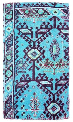 Aztec Blue - Bathmat - Fresco Towels