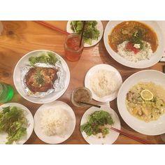 ナオと映画見た後ユリと合流して 久々に人集まった #instadiary#instafood  #instagram#cafe#lunch #Hamburg#chicken#curry #shibuya#カフェ#ランチ#渋谷### by __12sweet14__