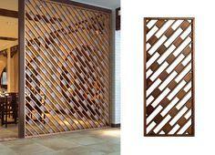 Paneles con diseños para división de espacios y privacidad, corte plasma, ironpig.cnc@gmail.com