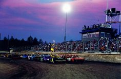 Southern Oregon Speedway....I remember hearing them across the valley on Saturday nights.