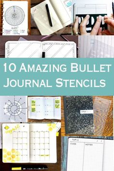 you looking for a way to make your bullet journaling layouts quick and easy? These clever journaling stencils are true time savers. Now you can get back to your list of things to do. Bullet Journal Tools, Bullet Journal Essentials, Bullet Journal Stencils, Bullet Journal Tracker, Bullet Journal How To Start A, Bullet Journal Spread, Bullet Journal Layout, Bullet Journal Inspiration, Journal Ideas