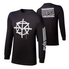 "Seth Rollins ""Redesign, Rebuild, Reclaim"" Long Sleeve T-Shirt"