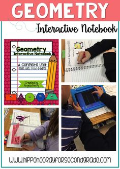 This geometry interactive notebook unit is AMAZING! Lots of activities for teaching about points, lines, plane shapes, and solid figures, geared towards elementary students. The unit is designed to be a reference tool as well as practice/application for key geometry concepts, and my kiddos LOVED it!!