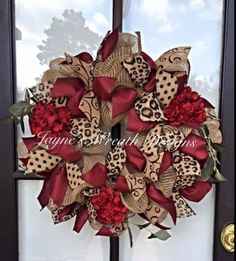 Available for pick up or shipping! Burlap Wreath with Burgundy Hydrangeas - Also available with Vine Script Letter Mesh Ribbon Wreaths, Christmas Mesh Wreaths, Valentine Day Wreaths, Valentine Decorations, Christmas Crafts, Christmas Decorations, Burlap Wreaths, Door Wreaths, Fabric Wreath