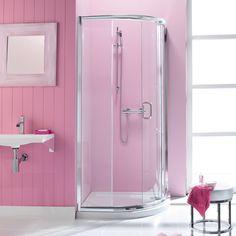 Pink shower room