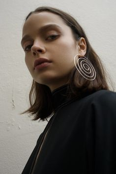 Single Large Spiral Earring by BEAUFILLE for Preorder on Moda Operandi