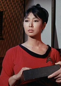 "Yeoman Tamura was a member of Starfleet who served aboard the USS Enterprise under Captain James T. Kirk during the mid-2260s. (TOS: ""A Taste of Armageddon"")"