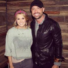 Carrie Underwood in Pink Pewter ♥ this looks like it was taken @ Kayne Prime! Yum!