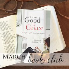 Online Book Club | From Good to Grace by Christine Hoover