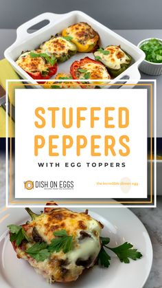 These easy egg-topped stuffed peppers are not only family-friendly, but camera-friendly too.