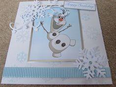 Frozen Olaf Handmade Birthday Card - by SCT Designs