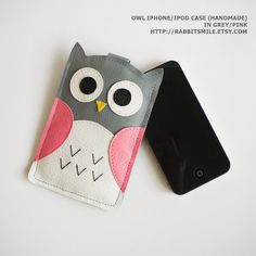 Want :-) Owl iphone pouch.