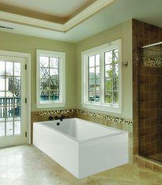Relax with HydroSystems Tubs #bathtubs #soakingtub