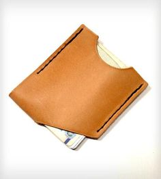 Cutting Corners Wallet | Just what a man needs: This wallet is thin, carries plenty of ... | Wallets & Money Clips