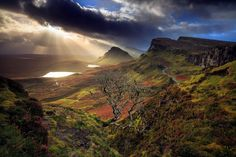 The Quiraing, Isle of Skye, Scotland by Florent Criquet. Nature Pictures, Cool Pictures, Beautiful Pictures, Beautiful World, Beautiful Places, Nature View, Amazing Nature, Land Scape, Beautiful Landscapes