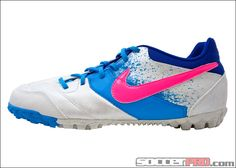 Nike Bomba Turf Soccer Shoes - White with Pink Flash...$49.49
