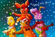 Happy New Year! by Darkpaw2001.deviantart.com on @DeviantArt