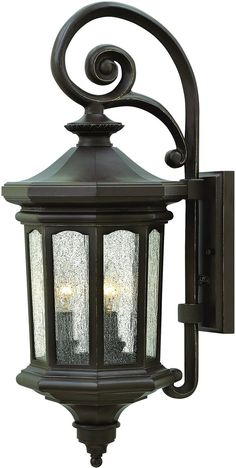 0-009308>Raley 3-Light Outdoor Wall Light Oil Rubbed Bronze 1604OZ