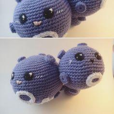 alexaucrochet:: Here is another weezing #crochetplush #smogogo #koffing #smogo…