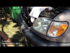 Clean Foggy Headlights At Home Free Easy Using Household Products - YouTube