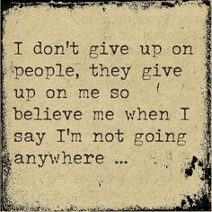 I'm not going anywhere.. @Kelsey Rosebud