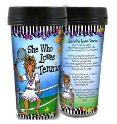 Tennis anyone?  A great gift idea for your tennis partner.  And yes, it is about the CUTE outfits.