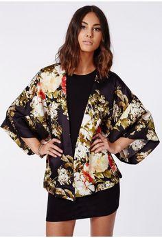 Missguided - Jaidyn Floral Kimono