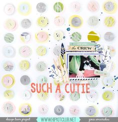 So this was probalby my most favorite layout I created with the October 2016 @hipkitclub kits. I absolutely loved creating this background with my gelatos and circle punches! You can find all the details on the Hip Kit Club facebook page or watch the process video on my YouTube channel (search Zinia Amoiridou). #scrapbook #scrapbooking #memorykeeping #scrapbookprocess #scrapbookingprocess #scrapbooklayout #scrapbookinglayout #scrap #hipKit #HipKits #HipKitClub #HipKitClubKits #HKC…