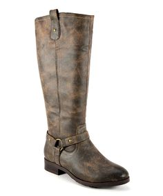 Look what I found on #zulily! Brown Distressed Cherokee Boot by Corky's Footwear #zulilyfinds