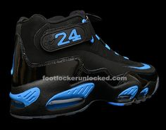 Nike Air Griffey Max Black and Photo Blue