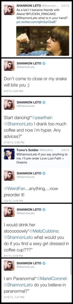 Funny Shannon's tweets.