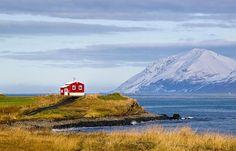 Seul au monde dans cette maison islandaise, ça vous dirait ? © Patrick Sharp