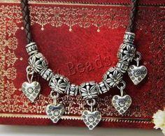 #jewelry#collar en cuero PU, con aleación de zinc http://www.beads.us/es/producto/Cuero-de-PU-collar_p121967.html?Utm_rid=163955