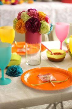 Centerpieces for a fiesta/Cinco de Mayo party!!
