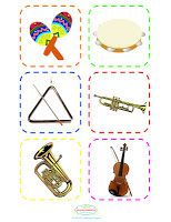 The Plucky Pianista: Musical Instrument Flash Cards - Supplement for Pin the Tail on the Bunny Preschool Music, Music Activities, Music Anchor Charts, Music Flashcards, Online Music Lessons, Music And Movement, Music School, Piano Teaching, Elementary Music