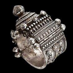Silver Bracelet   Orissa, India   Circa Early 20th Century