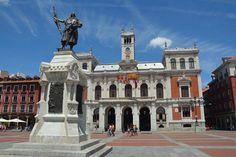 Plaza Mayor de Valladolid en pleno corazón de la ciudad del Pisuerga. #valladolid #castillayleon #cylesvida #sitiosdeespana #sitiosdeespaña #sitiazodeespaña #plazamayor #espana #España #Spain (en Plaza Mayor Valladolid)