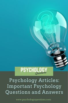How well do you know about Psychology? Psychology Questions is an onlgoing psychology and neuroscience blog where you can find Trending Psychology Questions Get Answered. It publishes commentary articles on mind and brain issues. We have various resources and topics about Mental Helath, Anxiety, Depression, Stress, Gaslighting, and Personality Tests. Question And Answer, This Or That Questions, Psychology Questions, Personality Tests, Gaslighting, Neuroscience, Did You Know, Mental Health, Depression