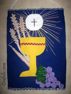 1000 images about communion banner on pinterest first for First communion craft ideas