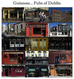Pub Crawl in Dublin.  BUCKET LIST!