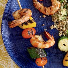 Moroccan Shrimp Skewers